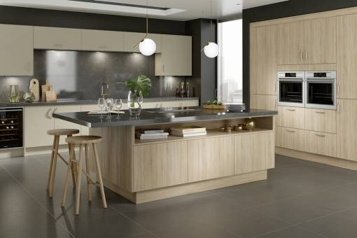 main image of Profile Grey Bardolino Oak & Accent Dakar Ash
